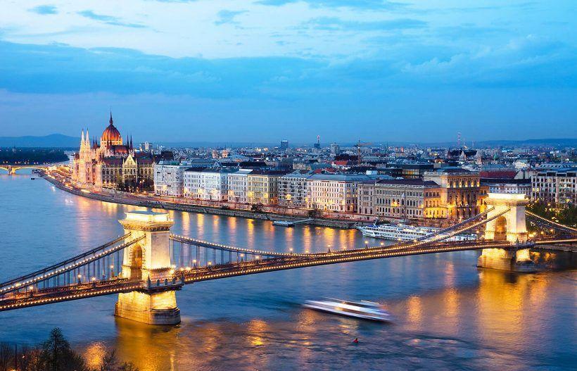 Vistas del Danubio, Budapest