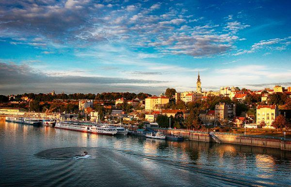 Ciudades en el Danubio,  belgrado