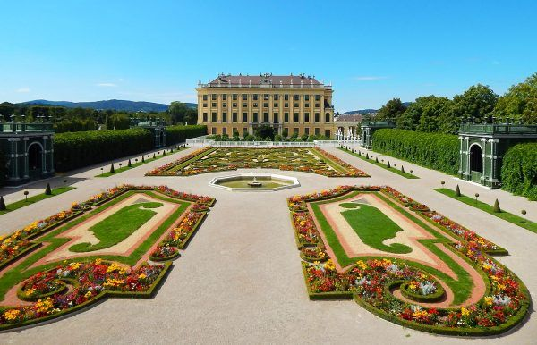 Palacio Schonbrunn en Viena