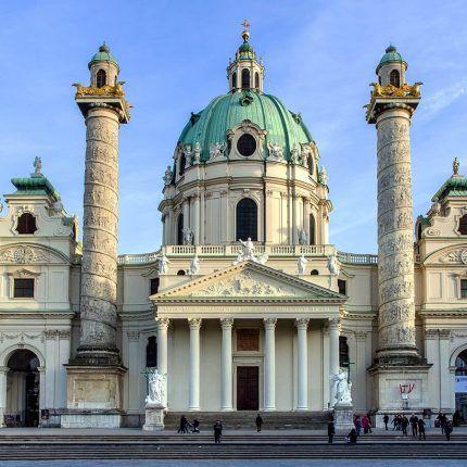 Catedral St Charles en Viena (Austria)