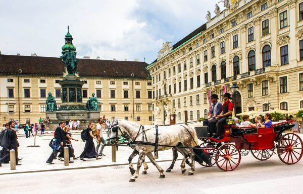 Paseo en carruaje, Viena