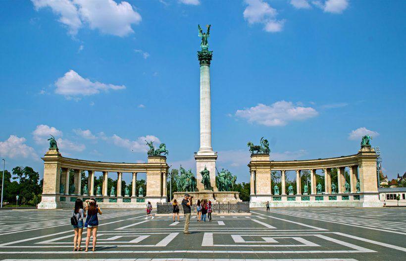 Plaza de los Heroes, Budapest