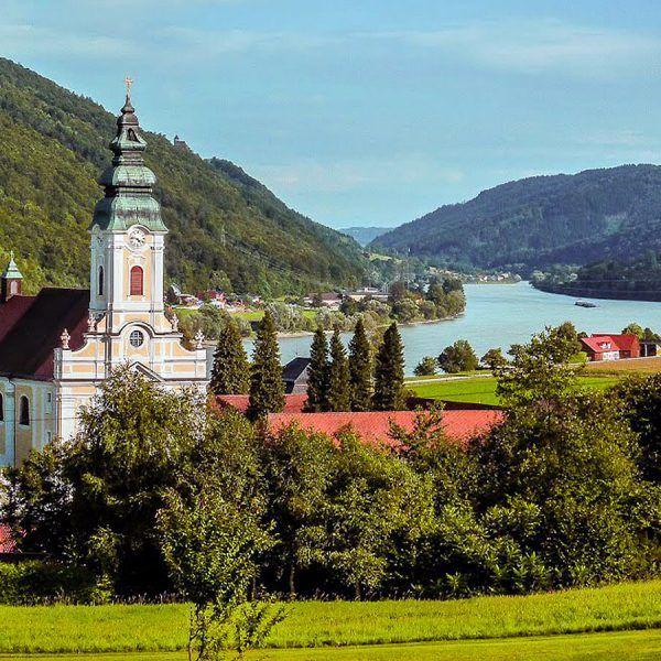 Engelhartszell, localizado en la alta Austria