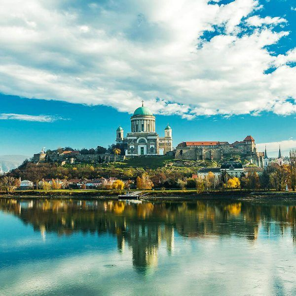 Esztergom, ciudad cercana a Budapest