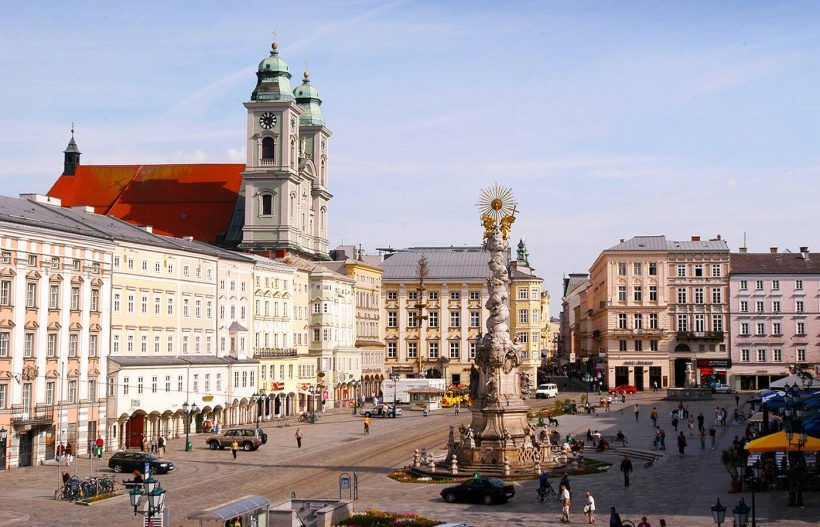 hauptplatz, Linz