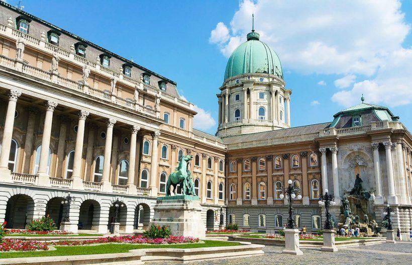 Palacio en Budapest