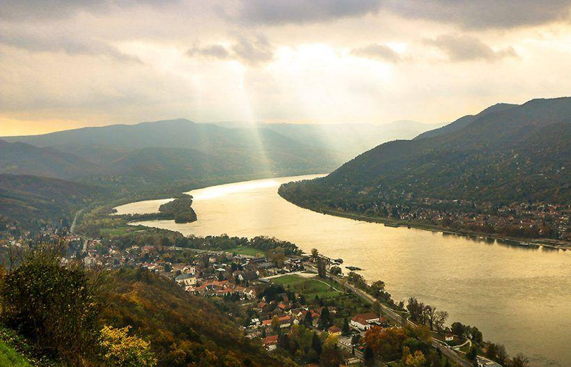 Visegrad en el Danubio