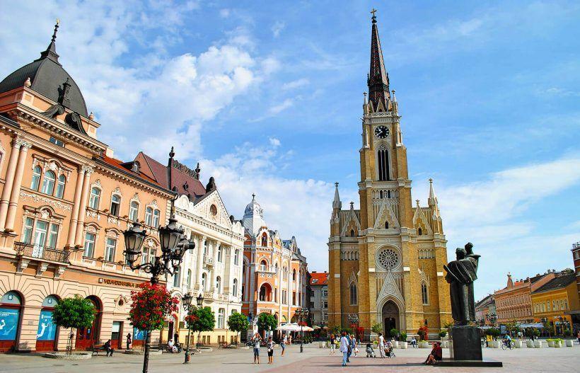 Novi Sad, ciudad de Serbia