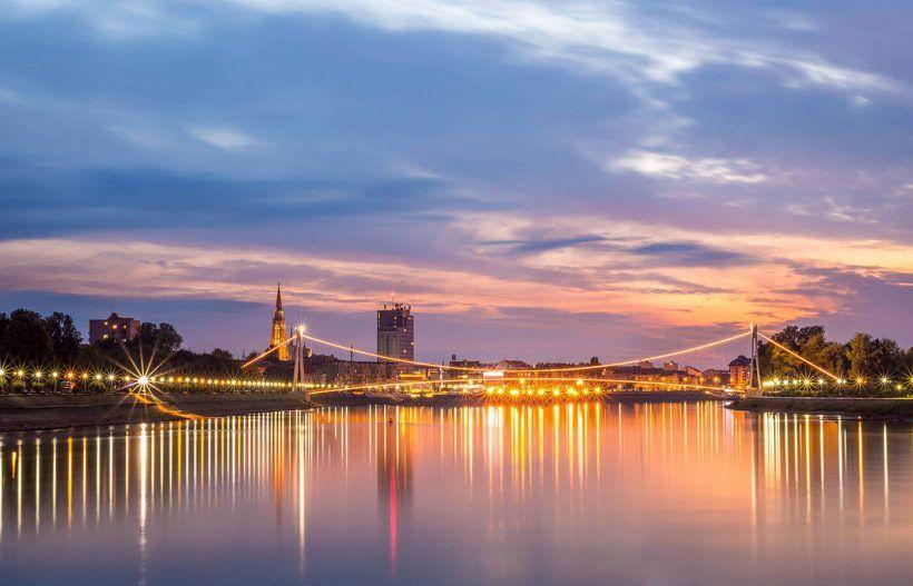 Osijek,  región este de Eslavonia