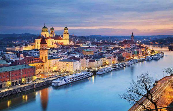 Danubio azul en passau