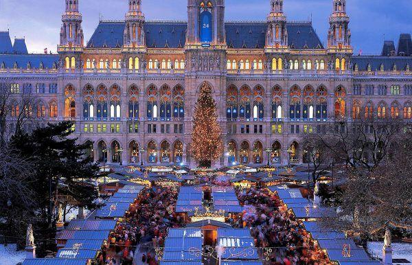 Ayuntamiento Viena Navidad