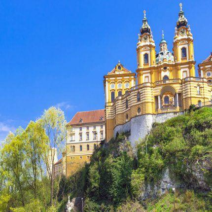Abadía de Melk - Crucero Danubio Azul